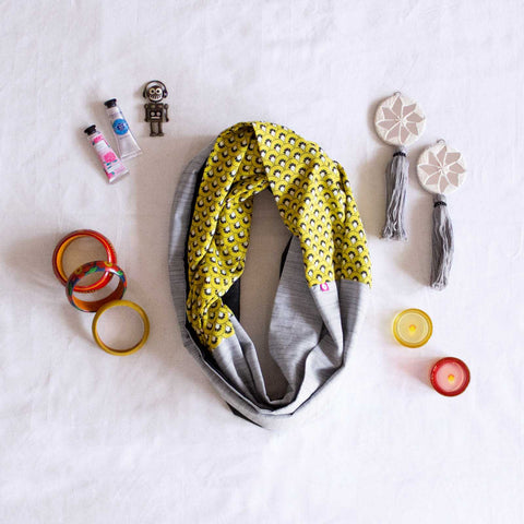 Kill Bill Infinity Scarf - Pomogrenade { Ethical fashion}