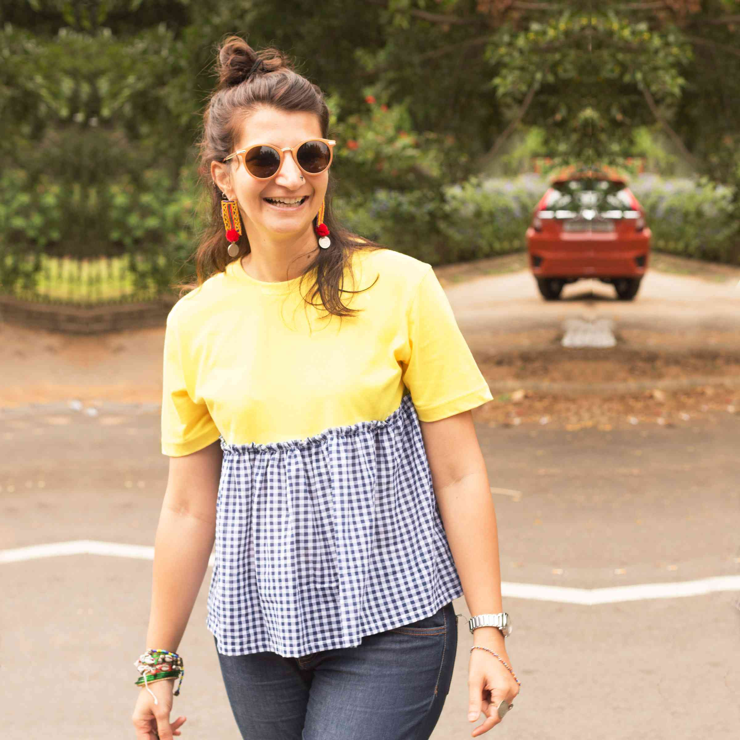 Yellow Pep Tee- Pomogrenade-Ethical Fashion