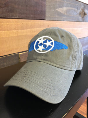 3D Tristar Dad Hat - Rocket Shirts