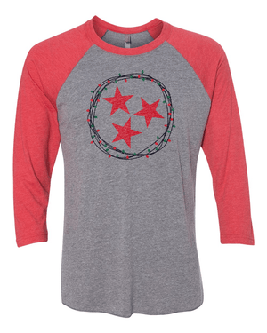 Christmas Tennessee Tri-Star - Rocket Shirts