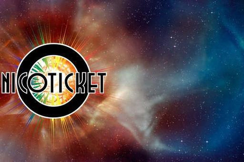 Nicoticket Betelgeuse (Fruit Punch) ejuice by Nicoticket (Omaha, Nebraska) - Mystic Vapor Canada