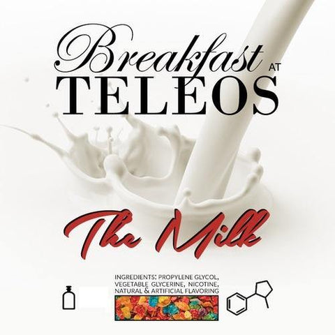 Teleos - THE MILK Vape Juice : Fruity Cereal, Brown Sugar, Whole Milk 60 ml, 120 ml  vape juice by Teleos - Austin, TX & a secret location in Northern Virginia - Mystic Vapor Canada