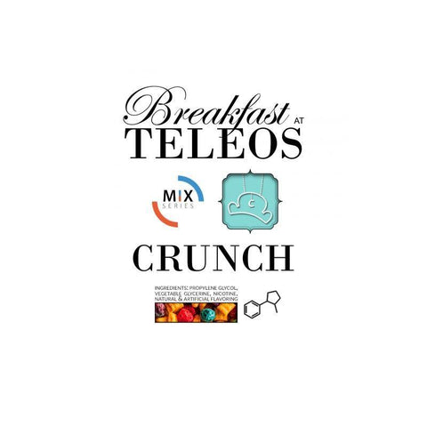 Teleos Crunch Vape Juice (Cereal, Berries, Whole Milk, Marshmallow) 60 ml, 120 ml ejuice by Teleos - Austin, TX & a secret location in Northern Virginia - Mystic Vapor Canada