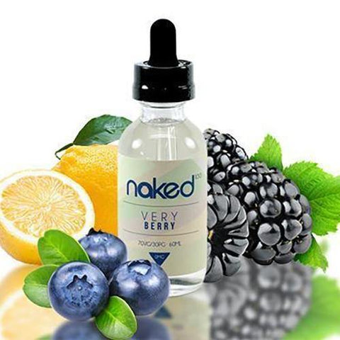 Naked 100 Very Berry e-juice - Blueberry | Blackberry | Lemon Sugar Syrup (60 ML) ejuice by Naked 100 eliquids - Garden Grove, California - Mystic Vapor Canada