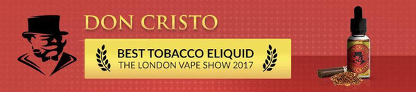 Don Cristo (Steeped with Montecristo Cigars in Oak Casks) Cigar Vape Juice  vape juice by Don Cristo Cigar e-juice - Mystic Vapor Canada