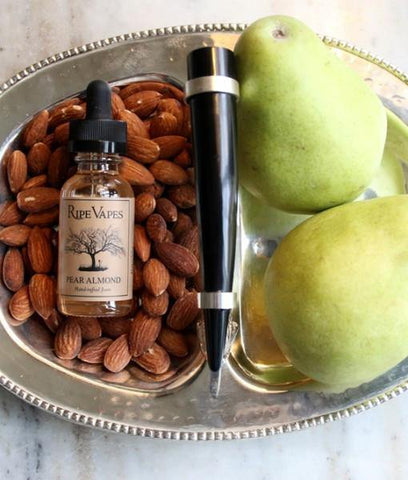 Ripe Vapes Pear Almond e-juice  vape juice by Ripe Vapes - Ventura County, California - Mystic Vapor Canada