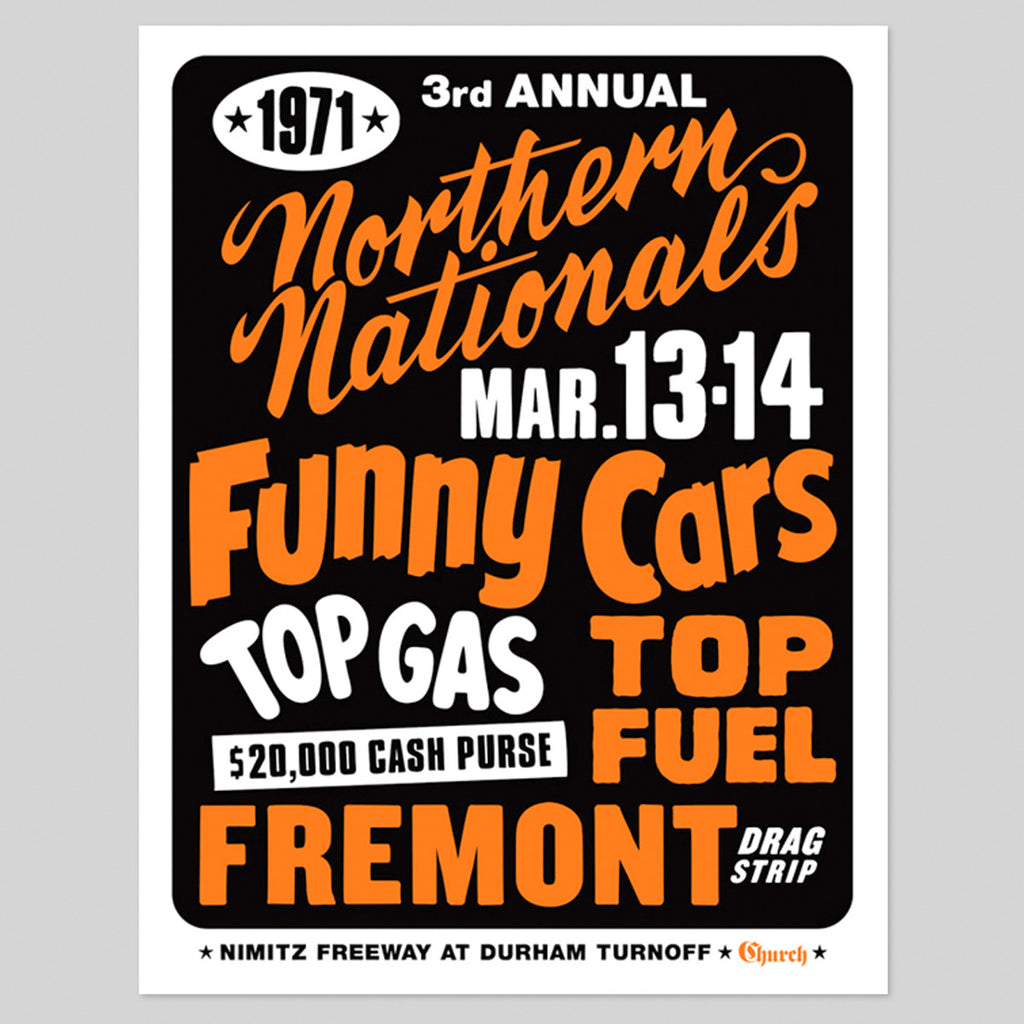 FREMONT DRAG STRIP PRINT