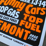 FREMONT DRAG STRIP PRINT SET