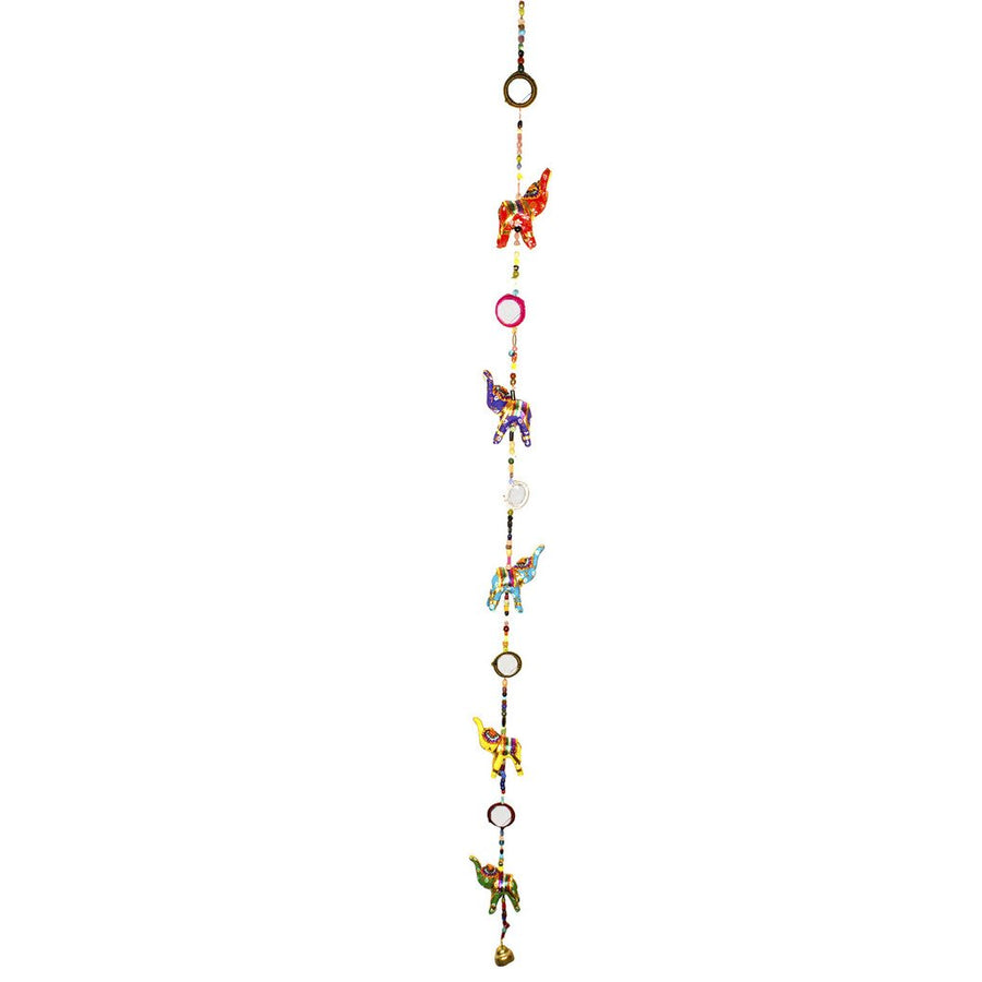 Elephant Mirror Tota Hanging Decor