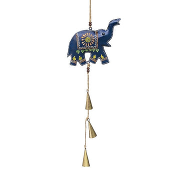 Henna Elephant Bell Chime