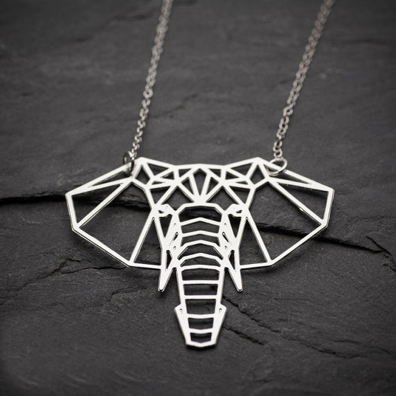 GEO > Elephant Necklace