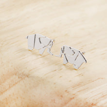 ORIGAMI > Elephant Earrings