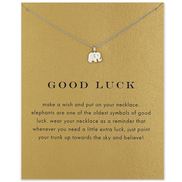 GOOD LUCK > Elephant Necklace