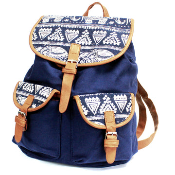 Elephant Traveller's Backpack - Blue