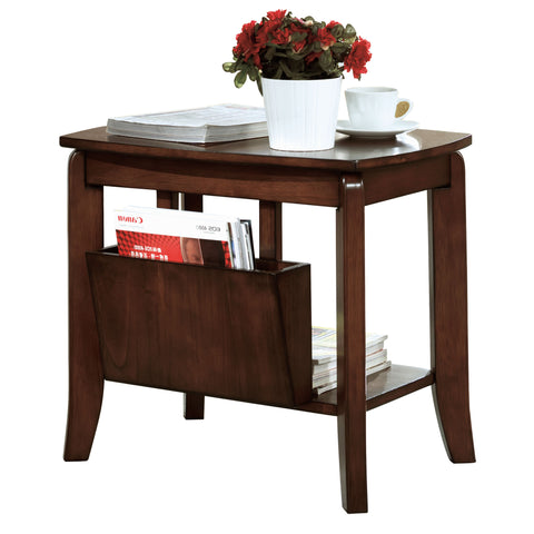 Monarch I 1579 Accent Table - Walnut Solid-Top