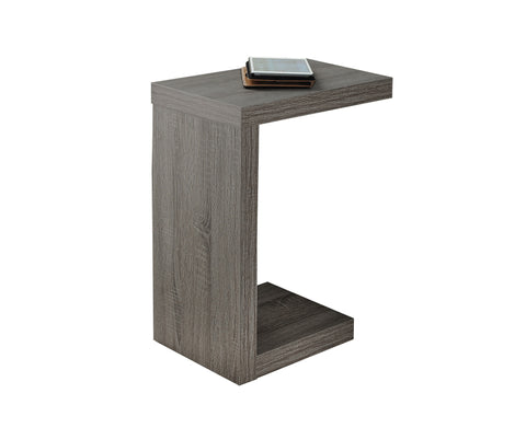Monarch I 2488 Accent Table - Dark Taupe