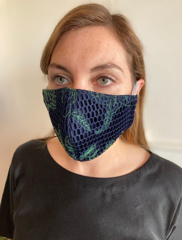 Face Masks - LACE + PRINTS