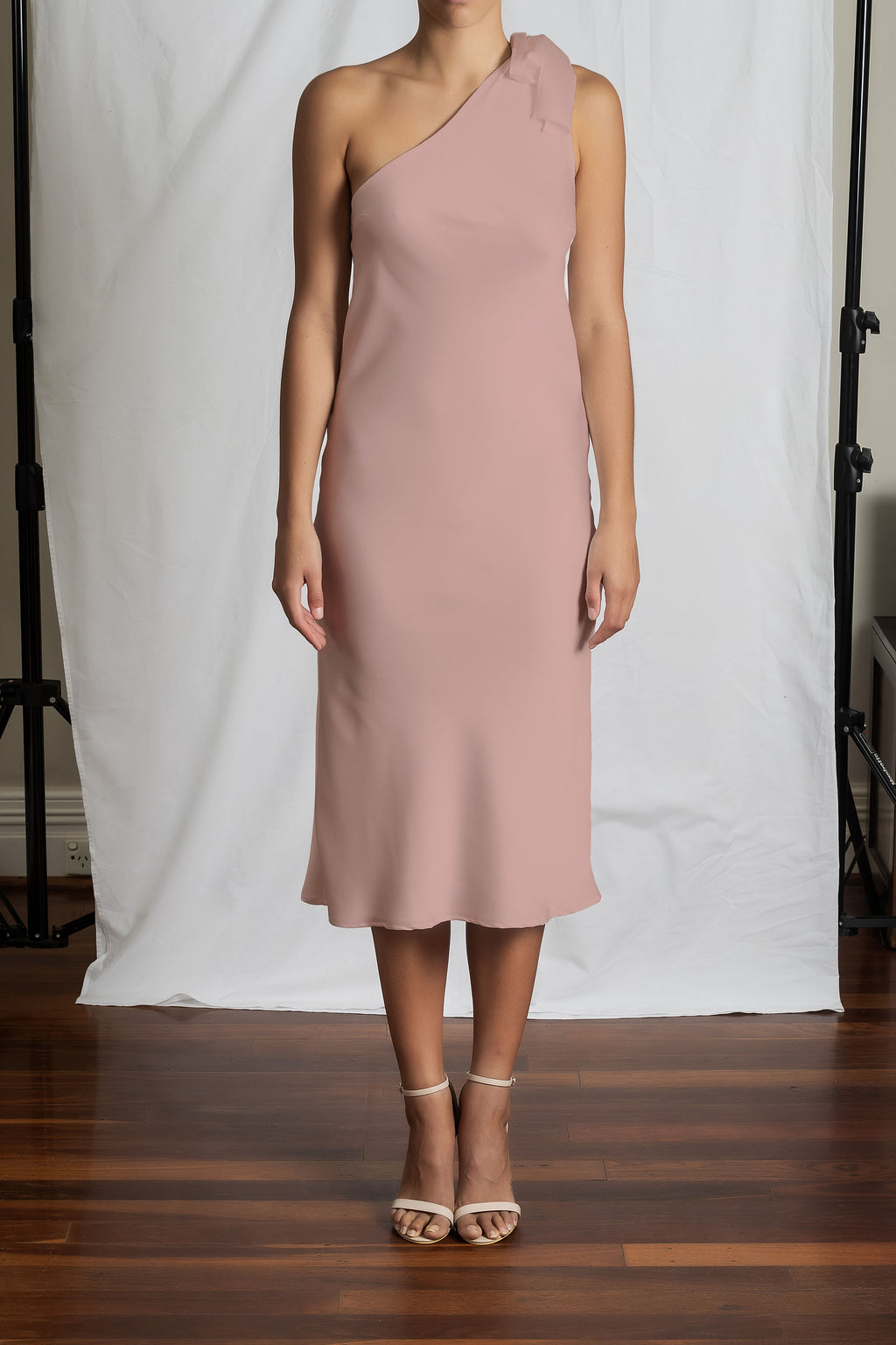 Azalea Dress - Dusty Pink