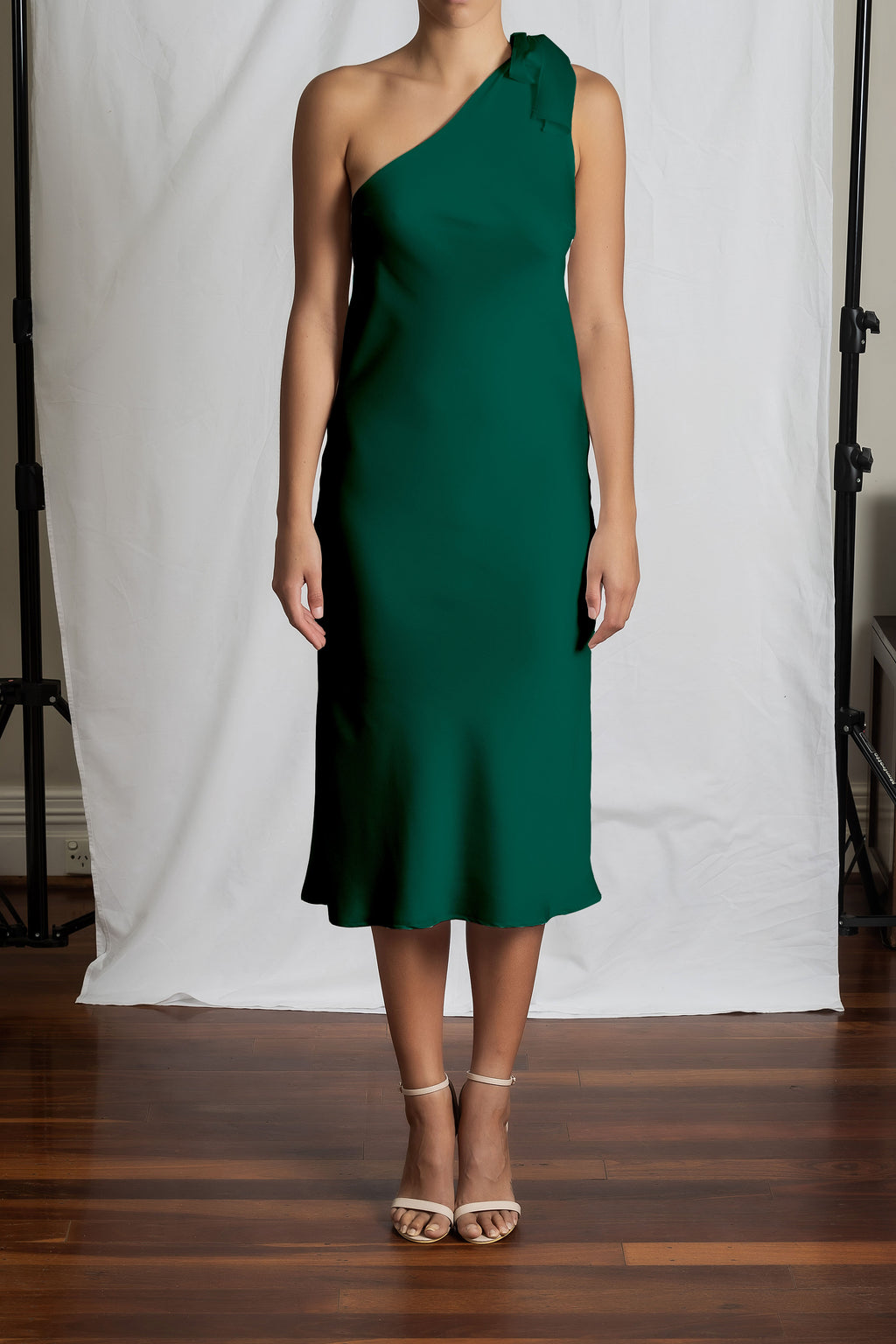 Azalea Dress - Emerald