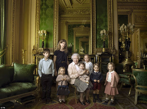 The Queens 90th Birthday Family Portrait