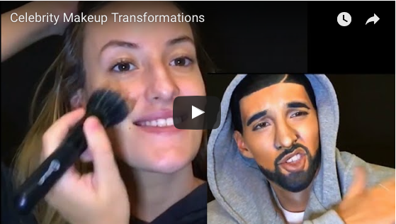 Celebrity Make-Up Transformations