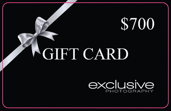 BOOK AND SECURE YOUR $700 GIFT CARD OFFER NOW