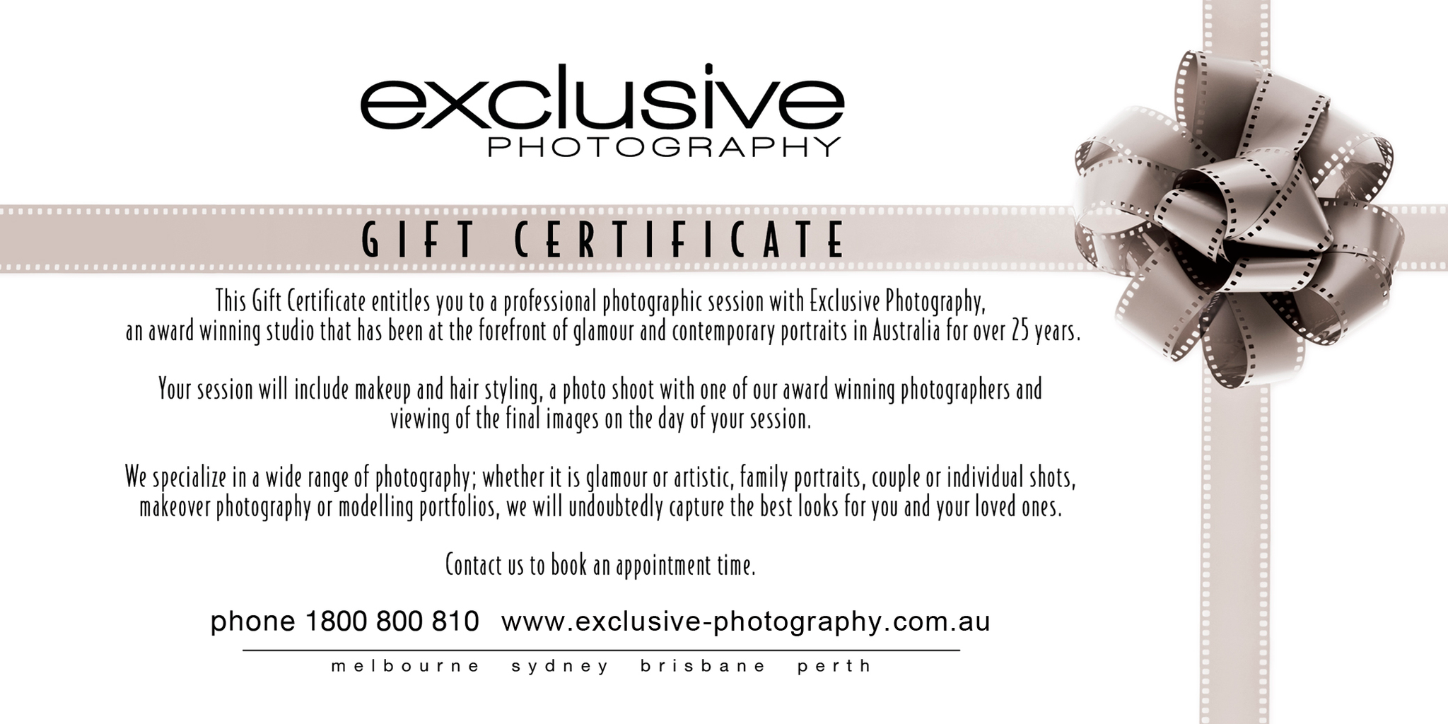 photography coupons melbourne