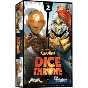 Dice Throne: Season One ReRolled - Monk vs Paladin