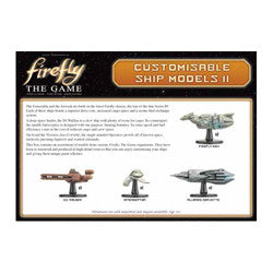 Firefly - The Game: Customizable Ship Model Kit 2