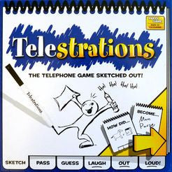 Telestrations 8 Player - The Orginal