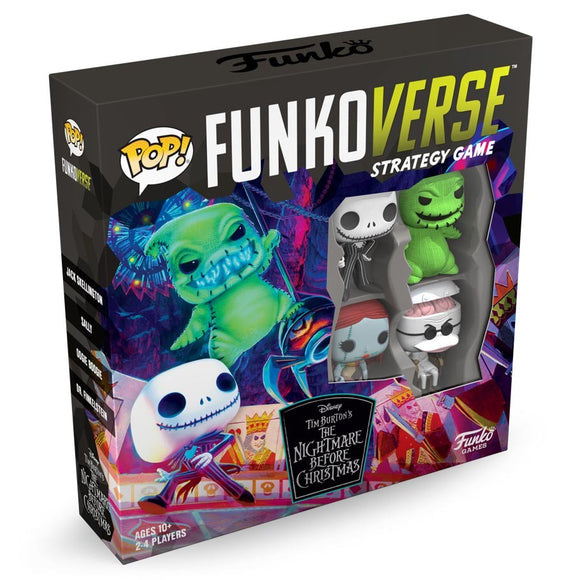 Funkoverse Strategy Board Game: Nightmare Before Christmas 100