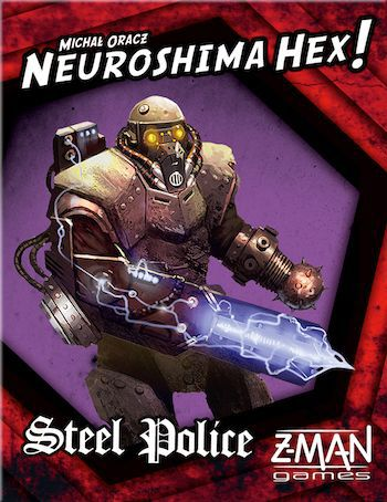 Neuroshima Hex!: Steel Police 2.5 Edition
