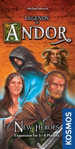 Legends of Andor: New Heros Expansion