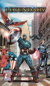 Marvel Legendary: Captain America 75th Anniversary Expansion