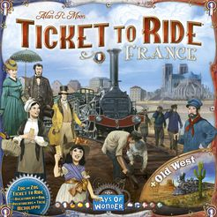 Ticket to Ride: Map Collection 6 - France & Old West