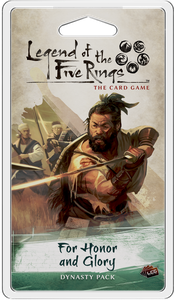 Legend of the Five Rings: The Card Game - For Honor and Glory Dynasty Pack