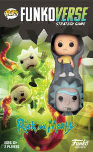 Funkoverse Strategy Board Game: Rick and Morty