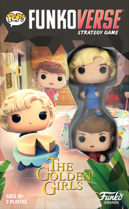 Funkoverse Strategy Board Game: Golden Girls 100 - Rose and Blanche