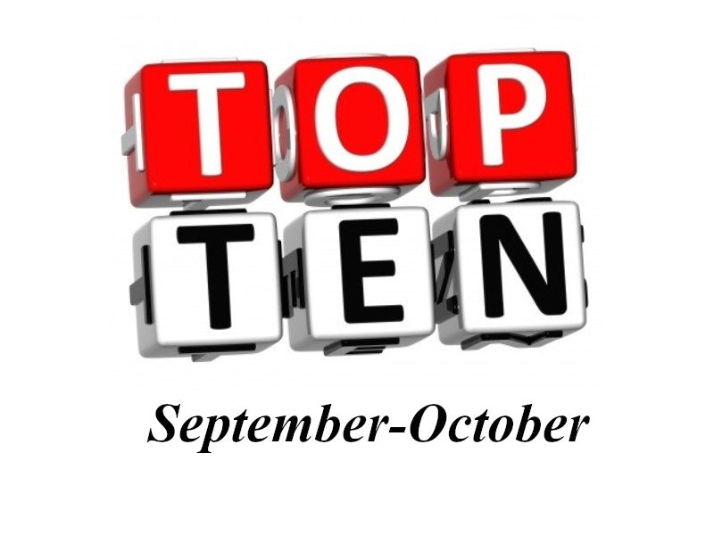 This Month's Top 10