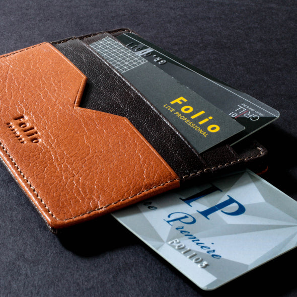 Two-Tone Money Clip and Card Holder : ที่หนีบธนบัตร