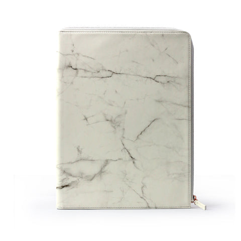 Marble Document Case A4 (ขาว)