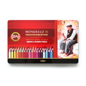 KOH-I-NOOR Mondeluz : Color Pencil 36