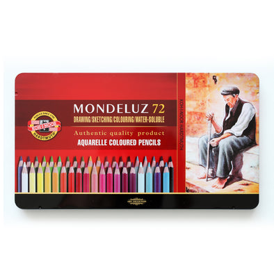 KOH-I-NOOR Mondeluz : Color Pencil 72