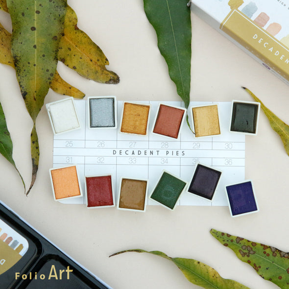 Prima Watercolor : สีน้ำ Prima รุ่น Decadent Pies