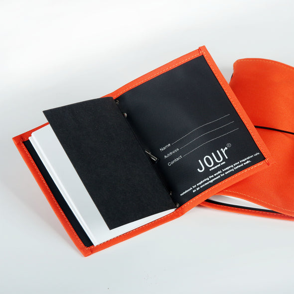 Jour Waterproof size A6 : สมุดกันน้ำ Jour (Summer Orange)