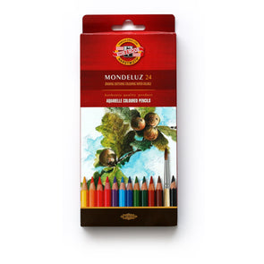 KOH-I-NOOR Mondeluz : Color Pencil 24 (Fruit)