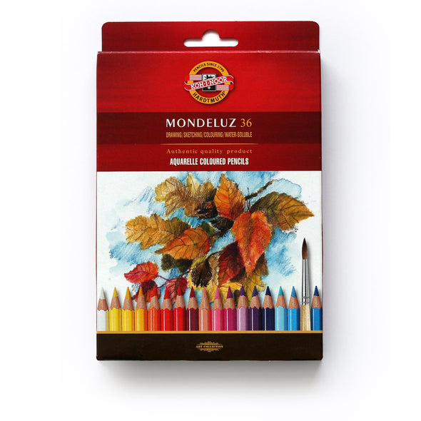 KOH-I-NOOR Mondeluz : Color Pencil 36 (Fruit)