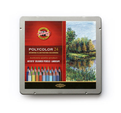 KOH-I-NOOR Polycolor : Color Pencil 24 (Lanscape)