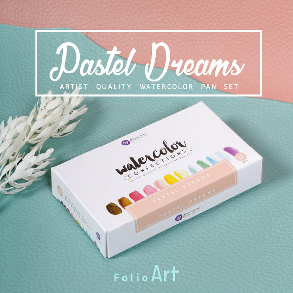 Prima Watercolor : สีน้ำ Prima รุ่น Pastel Dream