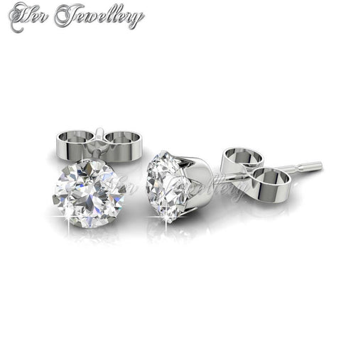 66f49513ab35 Solitaire Earrings (Crystal)